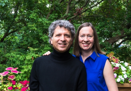 Ronald Braunstein and Caroline Whiddon