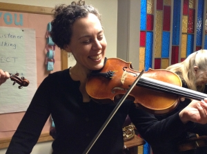 Sarah, violin December 2013