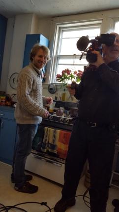 Erik and cameraman