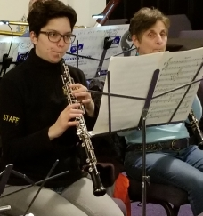 Ariel and Sherry oboes March 2018