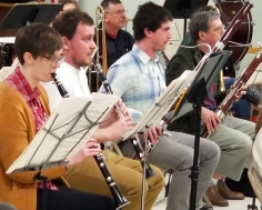 clarinets and bassoons March 2018