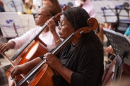Me2:Boston cellists in rehearsal - credit Erik Patton copy